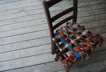 Ties & Recycled & DIY