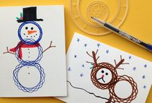 Spirograph / Use Spirograph to make an unlimited number of amazing spiral shapes and turn them into cute illustrated cards and graphics.