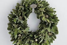Holiday Wreath and Flower Designs / I love non-traditional wreaths.  However, there is something about using the very traditional evergreens. They represent eternal life and hope for the spring.  I use them with sparse accessories to interpret the winter season.  These are some of my favorites that I've come across. / by Richmond Soap Studio