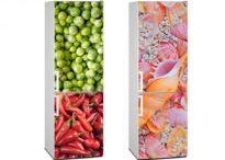 Imagina tu cocina / Ideas para decorar tu cocina con fotomurales personalizados y pizarras de tiza o veleda. Lo encontrarás todo en Imaginashop.