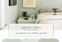 light green bedroom