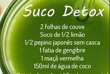 Água aromatizada / Sucos