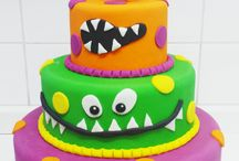 MONSTER CAKE DESIGN - Festa Monstruosa!!!
