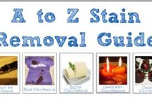 Stain Removing Ideas