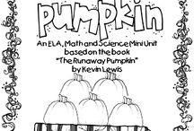 runaway pumpkin book unit