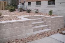 schodiště venkovní zadní vstup