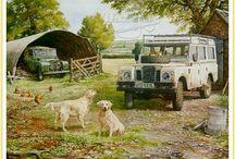 Land Rover Art