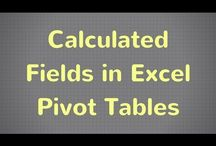 Excel Spreadsheet Tutorials / Subscribe @ goo.gl/t7VrWZ for the latest Excel tutorials with tips and tricks to help you learn how to use spreadsheets easier. Videos that show you how to use Excel faster both at work and at home.