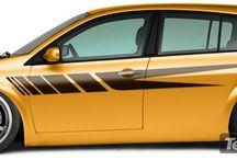 Adesivi per auto / Adesivi per auto e per moto Stickersmurali.com