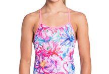 Girls in swimwear
