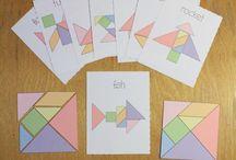 printable tangram
