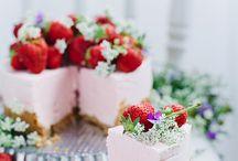 cheesecake e torte con frutta