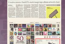 Art Vinyl in the Press / Art Vinyl featured in the Press and Media / by Art Vinyl
