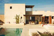 Casas en el desierto