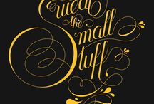 type and design / by M. Parker Graphic Design