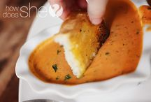 Food: Apps/Soups/Sauces / by Christy Gunter