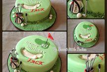 golfovy dort
