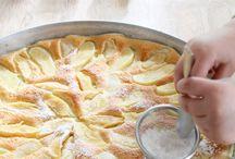 Ofenpfannkuchen mit Äpfel