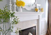 fireplace staging / by Michelle Michaels Freibaum