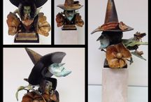Sculpture / Bronze, steel, mixed media and clay sculptures by American artisans