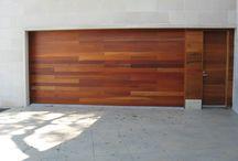 Entry Garage doors Gates Frontage