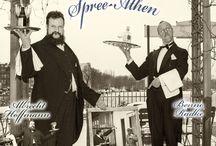 Vom weißem Rössl nach Spree-Athen / Shooting zum neuen Stück von Benno Radke (www.benno-radke.de) & Albrecht Hoffmann (www.heinrich-zille-darsteller.de)