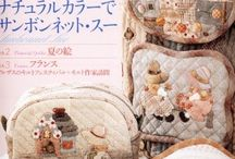 Japanese patchwork books and magazines