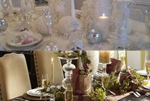 Christmas: Exquisite Holiday Table Settings