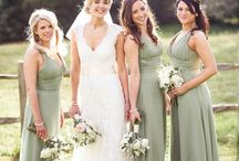 Wedding Colour- Sage Green / A beautiful mid-green with silvery blue tones. Perfect paired with white, ivory and creams, this delicate versatile colour is a favourite all year round.