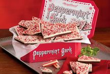Perfectly Peppermint / Peppermint is a Harry & David specialty. Whether it's Peppermint Bark, Peppermint Tea, or even Peppermint Cheesecake, our candy kitchen specializes in these holiday confections.  / by Harry & David
