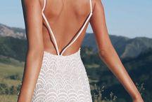 Vestidos de renda branca