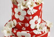 Piros torták / Piros színű torták
