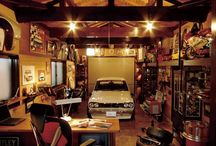 Dads man cave