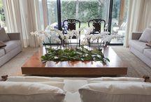Arranjos / Arranjos florais, verde, de mesa, aparador, etc