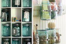 Mason Jars Ideas / Creative ideas using Mason Jars