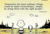 Charlie Brown and Snoopu