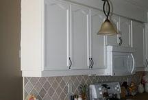Kitchen Bulkhead options / Kitchen DIY