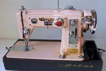 Vintage sewing / Vintage patterns Sewing machine  Ideas from vintage things