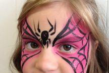 Face painting - Superhero