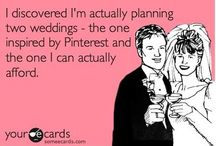 Wedding Humor / Sometimes, the best cure for wedding stress and wedding woes is a good joke.