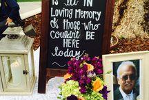Wedding tributes