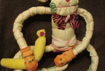 diaper cakes and baby & kids stuff / by Lillian Sargent