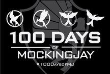 100 Days of Mockingjay / The final countdown to the release of our last film in The Hunger Games franchise has begun! We want to spend the last weeks celebrating with you! 8/12/15 we're kicking off a 100-day-long party just for tributes. We'll be focusing on every aspect of The Hunger Games unique and fabulous fandom over the coming months, highlighting the wonderful things that you've created out of your love for The Hunger Games book trilogy and movie franchise. Here you'll find everything #100DaysofMJ.