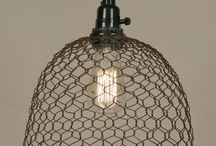 wire lampshade