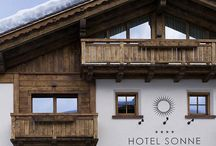 Hotel Sonne Livigno / Suggestive atmospheres  Hotel Sonne in Livigno is unique for its warm and elegant atmosphere and its unmistakable natural style and harmony. Each detail is well looked after and its modern design is harmoniously combined with the tradition of an ambience of great comfort and beauty which offers a warm intimacy at the same time.