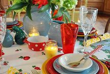 tablescape / by Shelley Robinson