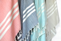 Towels-  Super Soft Turkish Towels / A 100% Turkish cotton Towel loomed using soft staple fibers which offer a softness and durability that is unsurpassed.  Super soft to the touch like cashmere.