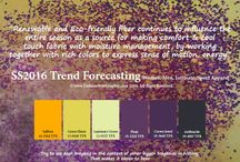 Color trending forecast 2016-20017 / As an artis designer and webdeveloper i take big interest in what colors that is trending in the future