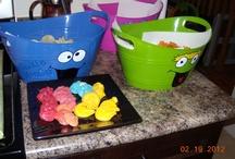 Sesame Street Birthday / My son's first birthday. Sesame Street themed. / by Katie Schmidt- Brewda