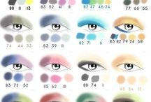 make up colour panel